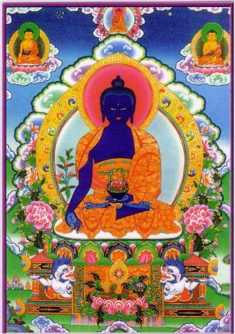 Будда Медицины, Король Лазуритового Цвета